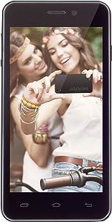 """Wolder miSmart XELFIE - Smartphone Libre de 4.5"""" (BackTouch Panel, Quad Core de 1.3 GHz, 1 GB de RAM, 8 GB, cámaras de 8/13 MP, Android 4.4)"""