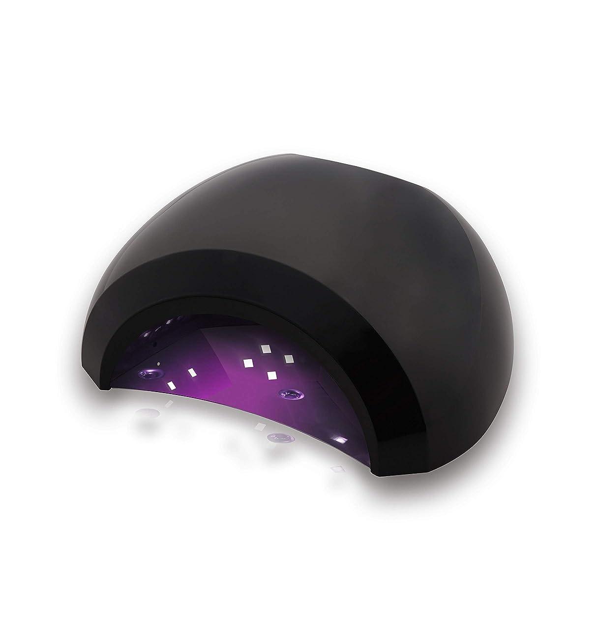 その過剰風変わりなAokitec UV LED ネイルドライヤー 48w高速硬化ネイルライト 人感センサーとタイマー付 時間メモリ 手足両用ネイルランプ 全ジェル対応 レジンにも使える 日本語説明書付【一年間保証】 …