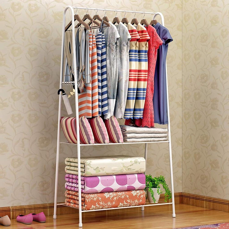 CIGONG-Coat rack Modern Minimalist Floor-Standing Coat Rack Home Bedroom Hanger Creative White Hanger 163x61x36cm