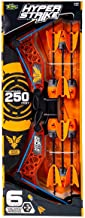 Zing HyperStrike Bow and Foam Arrows, Clear Orange, with an Incredible Range of Over 250ft. Great for Long Range Outdoor P...