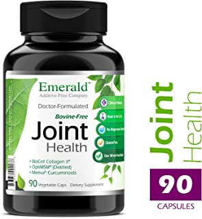 Joint Health - with BioCell® Collagen II, Meriva® & Opti MSM® - Supports Joint Pain Relief, Healthy Cartillage, Mobility - Emerald Laboratories - 90 Vegetable Capsules