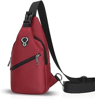 FANDARE Sling Bag Crossbody Bag Bolsas Gimnasio Mochila Ciclismo Excursionismo Bolso Senderismo Deportes Hiking Bag Gym Bo...