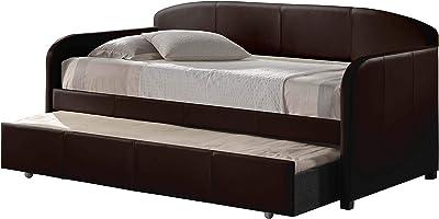 Amazon.com: LeAnna gris sofá cama W/cajones (tamaño grande ...