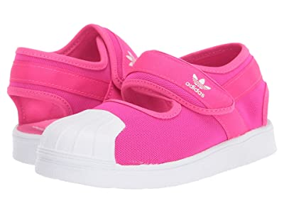 adidas Originals Kids Superstar 360 Sandal (Toddler) (Shock Pink/White) Girl