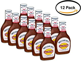 PACK OF 12 - Sweet Baby Ray's Sweet Red Chili Sauce & Marinade, 16.0 FL OZ