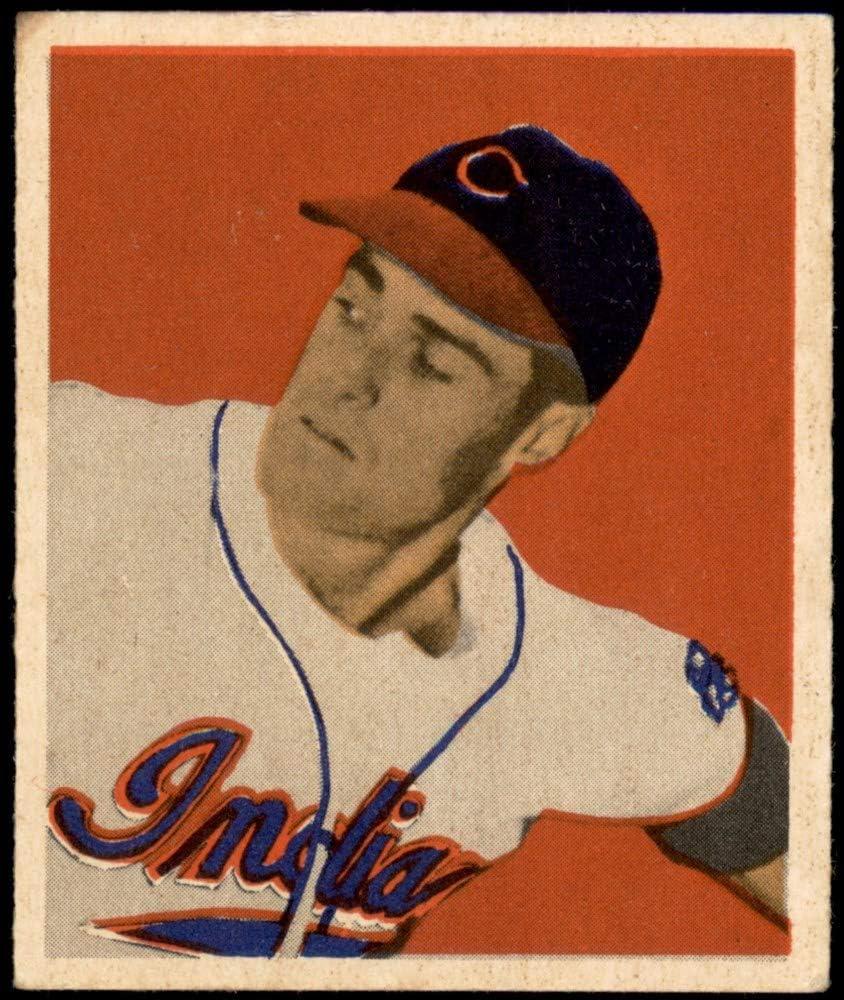1949 Bowman # 57 Gene Indians Outlet sale Discount mail order feature Baseball Bearden Cleveland Card