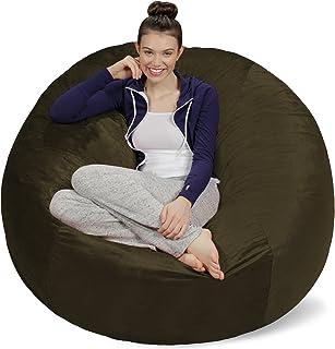 Sofa Sack - Plush Ultra Soft Bean Bags Chairs for Kids,...