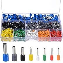 800pcs/set Cable Wire Terminal Connectors + Hand Ferrule Crimper Plier Crimp Tool Kit Set
