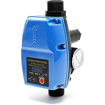 SKD-5 interruptor presión controlador bomba agua doméstica regulador presión bomba fuentes jardín: Amazon.es: Bricolaje y herramientas