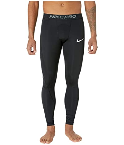 Nike Big Tall Pro Tights (Black/White) Men