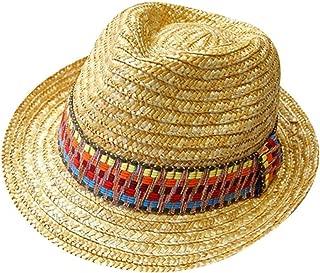 Beach Hat Liuliuliu Women Colorful Big Brim Straw Bow Hat Sun Floppy Wide Brim Hats Beach Cap