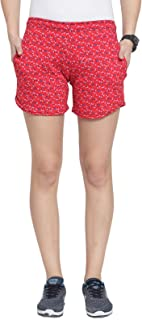 UZARUS Women's Cotton Hot Pants Sleep Night Wear Beach Running Sports Gym Shorts