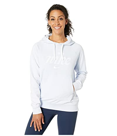 Nike NSW Hoodie Pro Wash (Half Blue/Summit White) Women