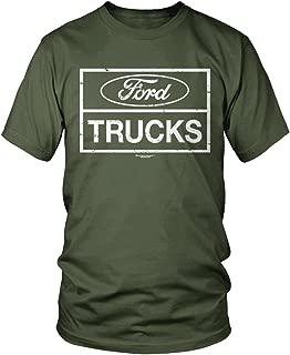 Amdesco Men's Ford Trucks, Officially Licensed Ford T-Shirt