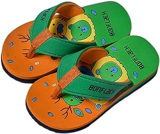 BONFLACK Kids' Flip Flops (Orange)