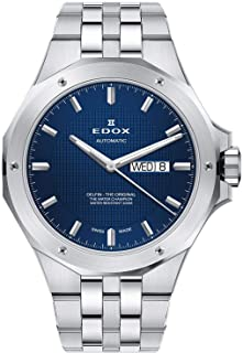 EDOX - Delfin The Original Reloj de Hombre automático 43mm de Metal 88005 3M BUIN