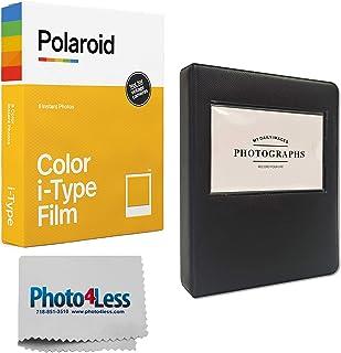 "Polaroid Color i-Type Instant Film (8 Exposures) + 5"" Photo Album for Polaroid Prints - Gift Bundle"