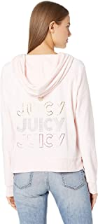 Womens Triple Juicy Glitter Logo Hoodie