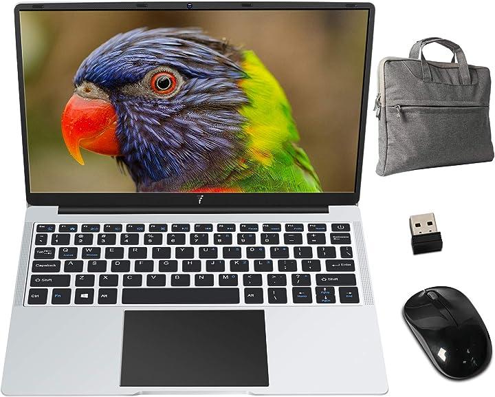 Pc portatile 14.1 pollici fhd 1920 x 1080 b2 notebook con intel® celeron 6 gb ram 64 gb ssd  goodtel B08GYTLCRQ