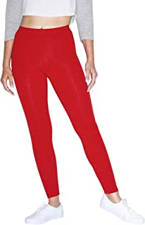 American Apparel Women's Cotton Spandex Jersey Legging
