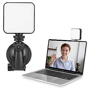 LED ビデオライト zoomライト オンライン会議ライト 2000mAh 色温度調整可能 スマート カメラライト 補助照明 撮影用ライト