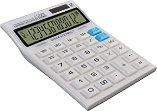 SaleOn™ White Basic and Financial Calculator-195