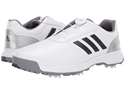 adidas Golf CP Traxion Boa (Footwear White/Grey Six/Silver Metallic) Men