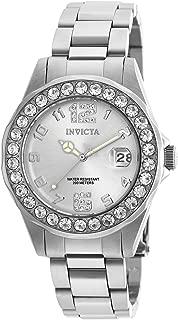 Invicta Women's Pro Diver 21396 Silver Stainless-Steel Swiss Quartz Watch