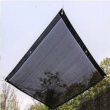 LIXIONG Sunblock schaduwdoek, zwart anti-aging anti-UV-verdikking en versterking grommet, venster guard zandstrand zon kam...