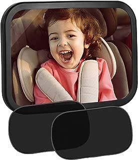 HITECHLIFE Auto Gro/ße Einstellbare Baby-Sicherheitsspiegel Ansicht R/ücksitz Baby-Sicherheitsr/ücksitz Baby Care Child Monitor