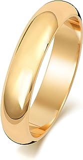 Anello Fede Nuziale Uomo/Donna 4mm in Oro giallo 18k (750) WJS1505718KY
