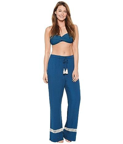 DOTTI Arcadian Breeze Wide Leg Pants Cover-Up (Blue) Women