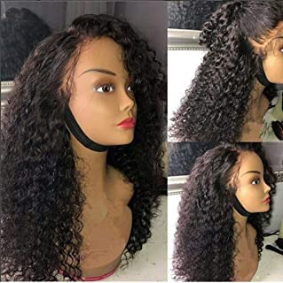Human Hair wigs for Black Women 9A Brazilian Virgin Human Hair Glueless Lace Front Wigs Kinky Curly Human Hair Wigs Pre Pl...