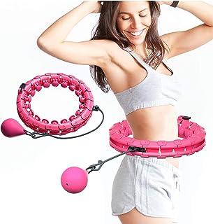 CLOUDH Hula Hoop Fitness, Masaje de neumáticos Hula Hoop no Deja Caer artefacto de pérdida de Peso de Yoga Hula Hoop,Smart Hula Hoop para Adultos y niños