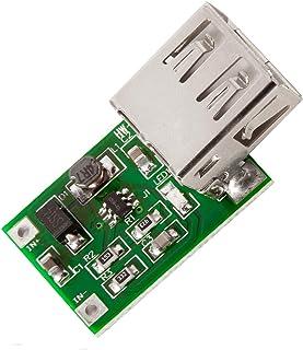 AZDelivery Convertidor DC-DC 3V a 5V Salida USB 600mA Módulo de alimentación para Arduino con eBook incluido