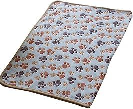 JIJI886 Tapi - Terciopelo coral para gato/perro, cálido, suave de colchón, edredón, toalla ideal para gato/perro