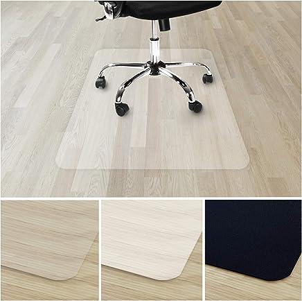 Tapis Protège-sol Transparent casa pura®   Tapis Chaise de Bureau Vinyle 100% Recyclé   Protection Sol Dur, Parquet, Lino   11 Tailles   90x120cm