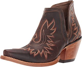Ariat Dixon Western Boot – Women's Cowgirl Inspired, Western Ankle Booties