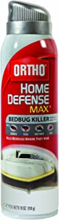 Ortho Home Defense MAX Bedbug Killer Aerosol Spray, 18-Ounce  (Older Model)