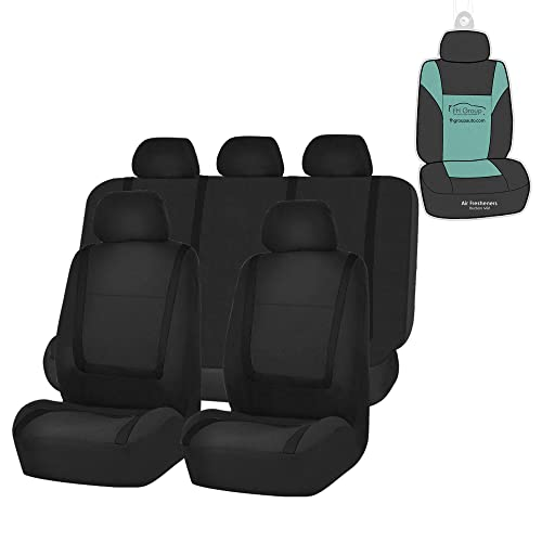 Black Grey Racing Car Seat Covers Cover Set For Kia Ceed GT Hatchback 2013 On