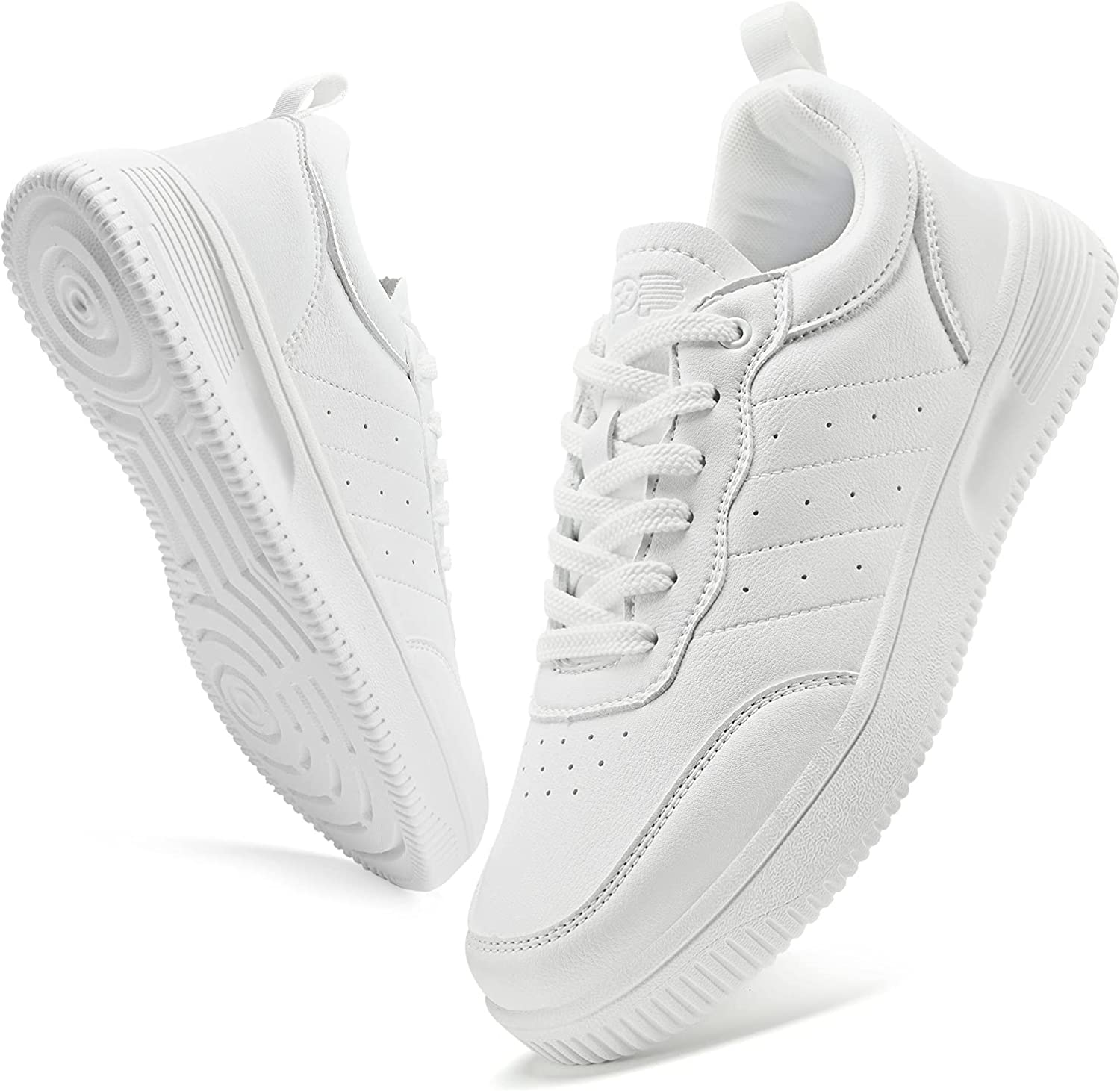 KPP Men's Sneakers Walking Shoes Max 74% OFF Sale item - Lightweight Sho Classic White
