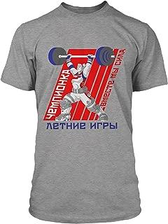 Overwatch Champion (Zarya) Men's Gamer Tee Shirt
