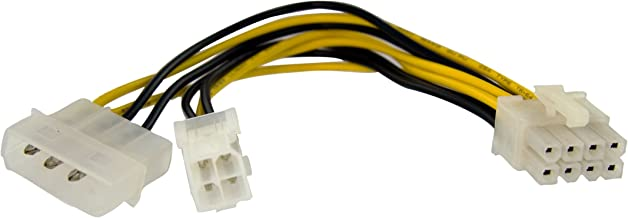 Best 12v molex to 8 pin adapter Reviews