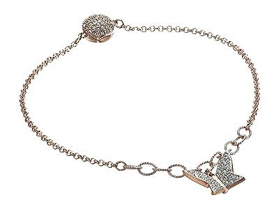Swarovski Remix Collection Lilia Strand Charm Bracelet (Rose Gold/White/Rose Gold Shiny Plating) Bracelet
