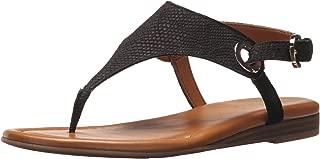 Women's Grip Flat Sandal, Black, 8.5 M US