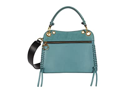 See by Chloe Tilda Shoulder Bag (Mineral Blue) Handbags
