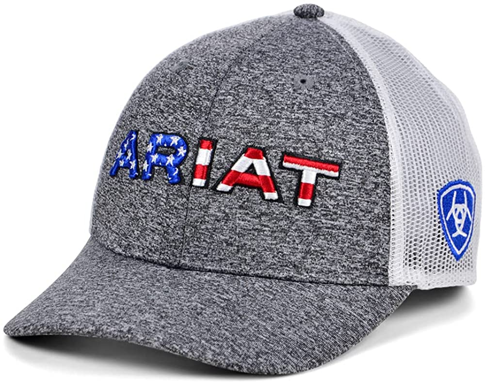 ARIAT USA Text Online limited Max 52% OFF product Trucker Hat Heather-Gray