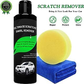 Randalfy Car Scratch Remover- Magic Car Scratch Remover, Scratch Removal for Cars with Polish & Paint Restorer Abrasive Compound, Swirl Remover, Water Spots, Light Scratch Removal for Cars
