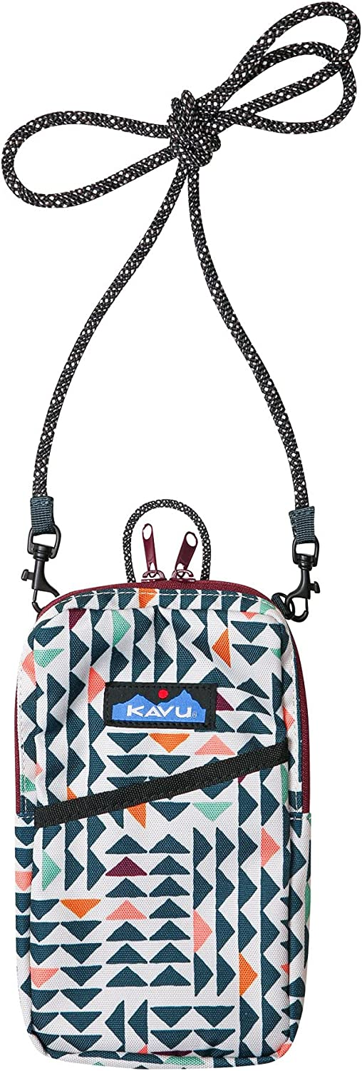 KAVU Essential Case Zip Crossbody Wallet Strap Cheap Rope Trina Outstanding - with