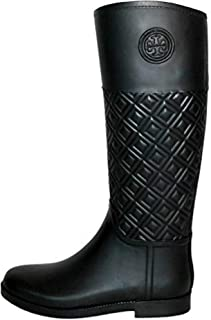 Tory Burch Marion Quilted Rainboot Boots Rain Shoes